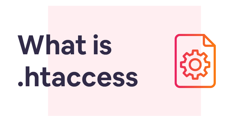 What is a .htaccess file and how can you create one?